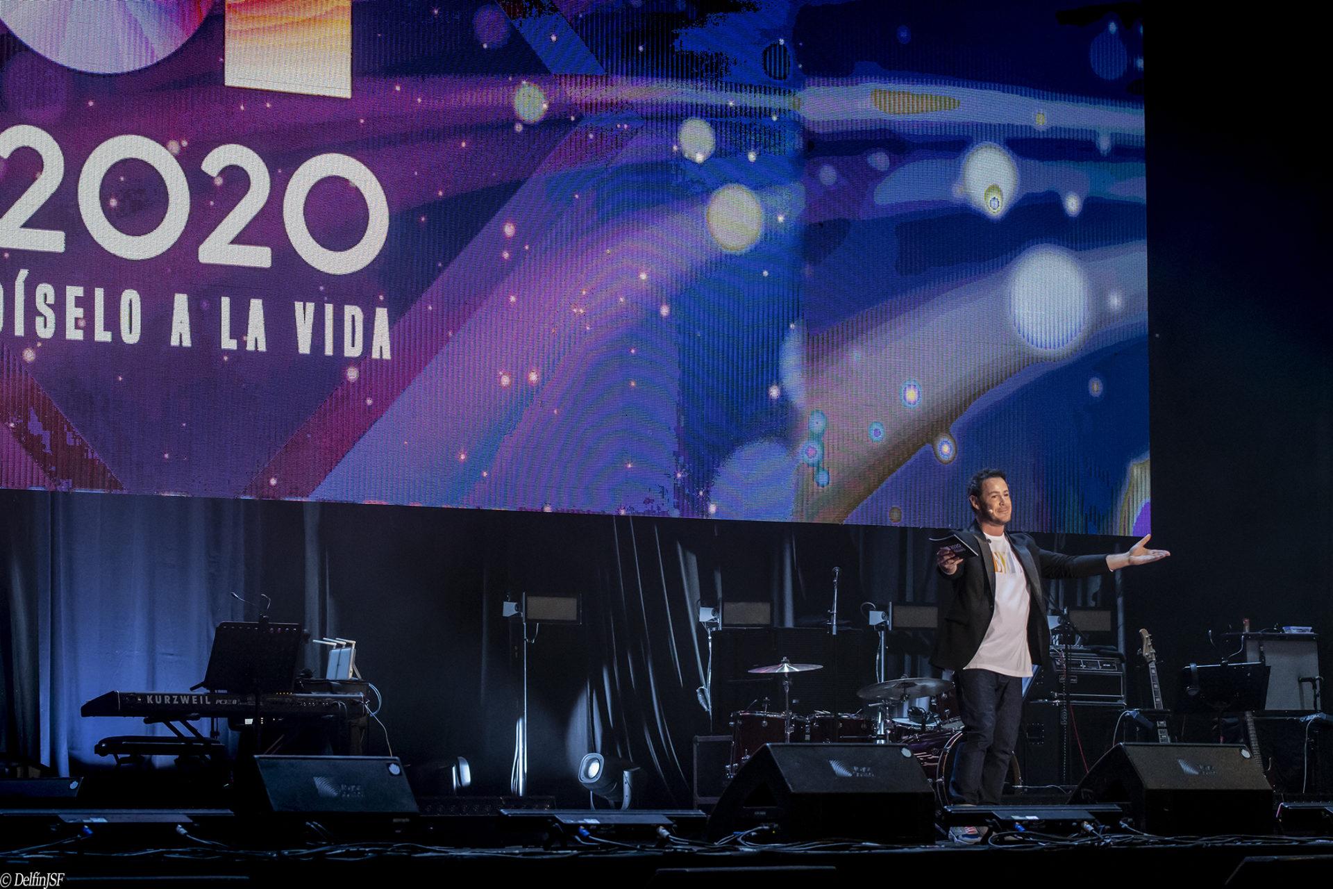 OT 2020 – DÍSELO A LA VIDA #WIZINKCENTER, DelfínJSF