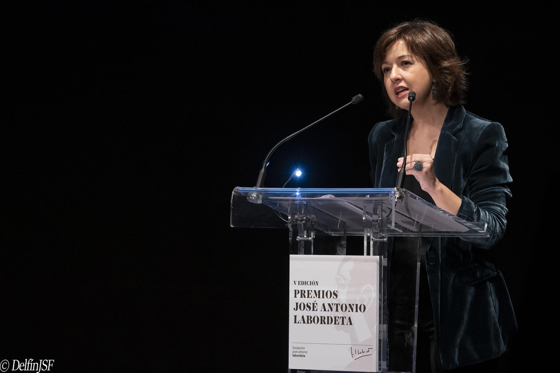 PREMIOS JOSÉ ANTONIO LABORDETA 2019, DelfínJSF