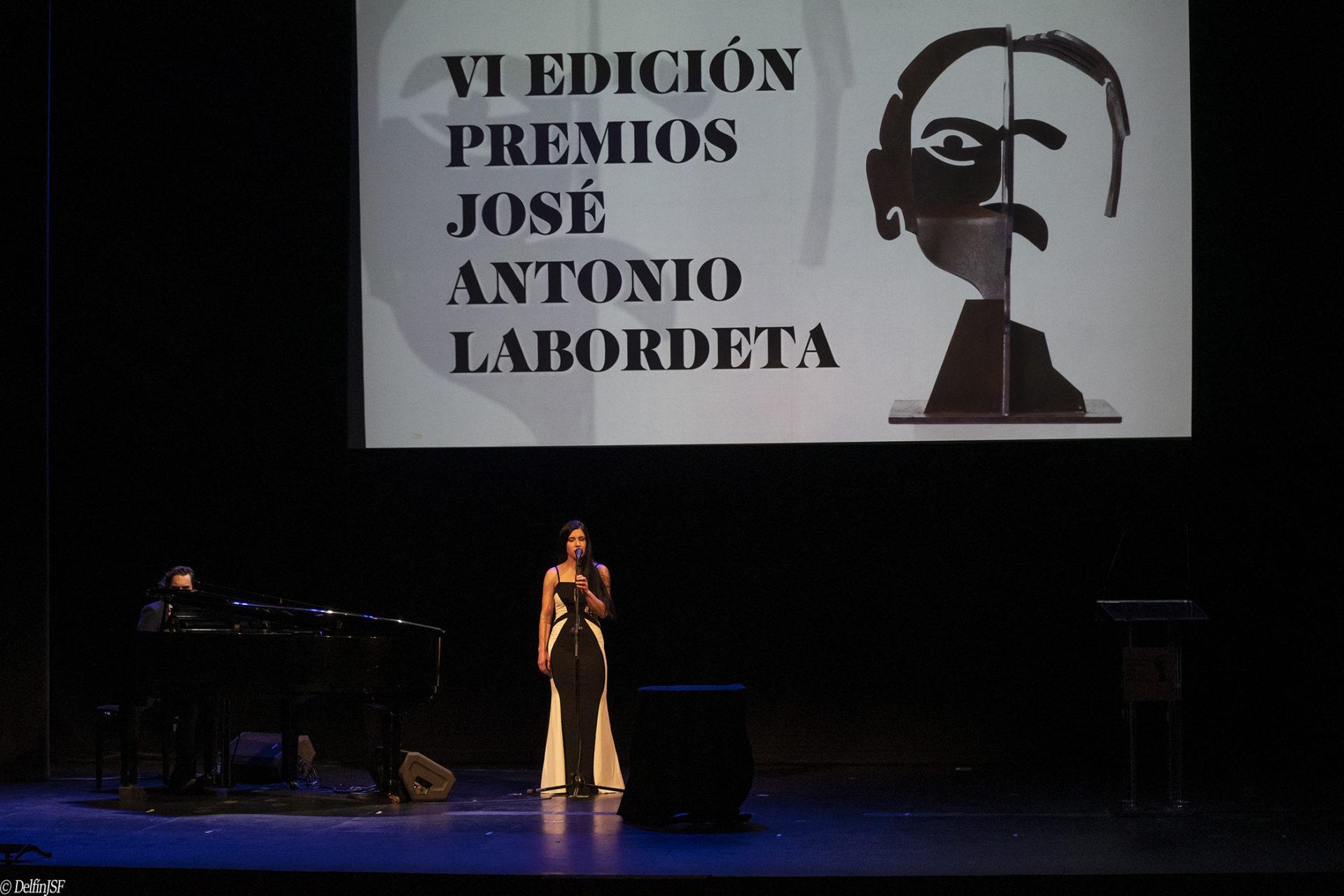 VI PREMIOS JOSÉ ANTONIO LABORDETA #TEATROPRINCIPAL, DelfínJSF