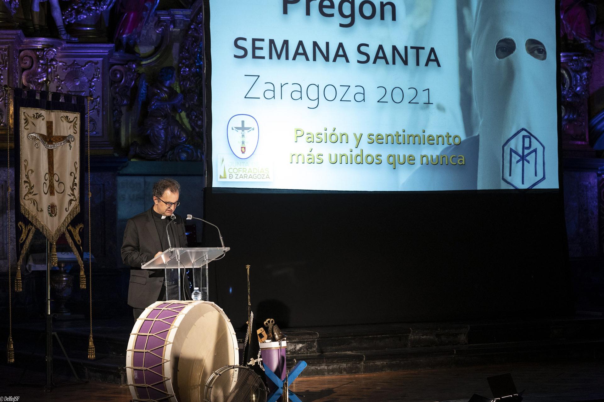PREGÓN SEMANA SANTA 2021 #ZARAGOZA, DelfínJSF