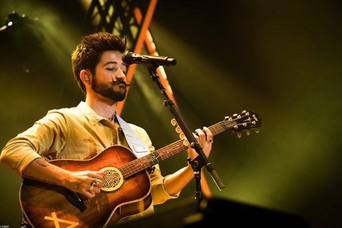 Camilo reactiva las noches de música en el Príncipe Felipe de Zaragoza